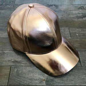 Forever 21 Metallic Cap